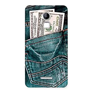 Gorgeous Money Money Colorful Jeans Back Case Cover for Coolpad Note 3
