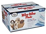 "Four Paws Wee-Wee Pads Standard 22"" x 23"", 100 Pack Box"