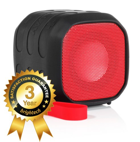 Brightech Remix5™ - Ultra Rugged Design - Water-Resistant And Shockproof Bluetooth Speaker With Nfc Tap & Play Technology - Now You Can Take Great Music Anywhere! - Perfect For Outdoor Events
