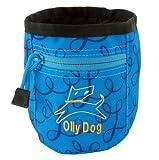 OllyDog Treat Bag Plus, Blue Loop