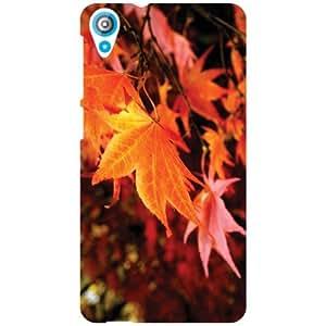 HTC Desire 820Q Back Cover - Artistic Leaf Designer Cases