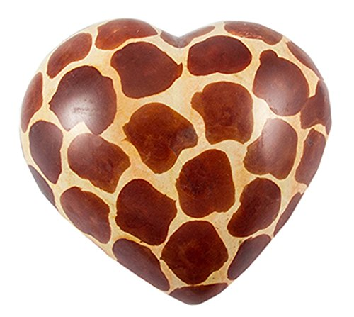 maisha-hand-carved-fair-trade-african-soapstone-heartslarge-giraffe-print