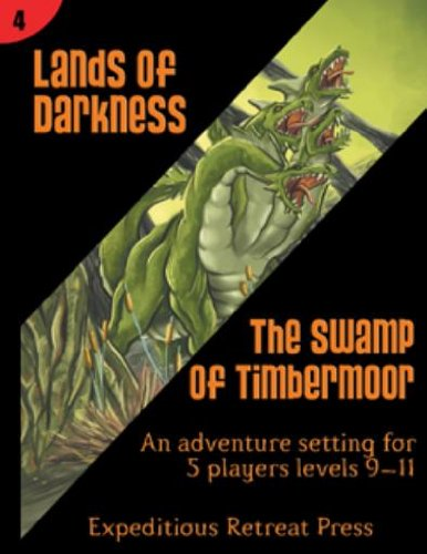 Lands of Darkness #4 - The Swamp of Timbermoor MINT/New