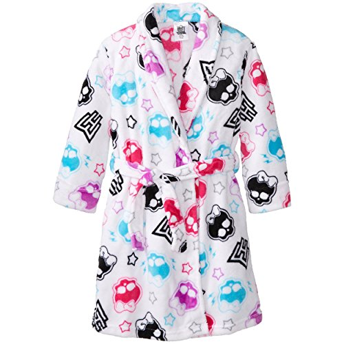 Monster High Girls Plush Fleece Bathrobe Robe Sleepwear