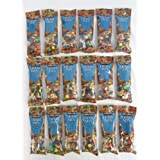 COS10 M&m and Assorted Peanut Trail Mix Snack Packs- Box of 18 Packs (2.5oz) by Kirkland Signature