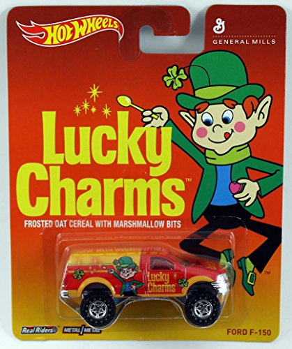 Hot Wheels Pop Culture General Mills - Lucky Charms Ford F-150 - 1