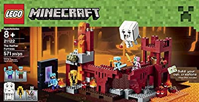 LEGO Minecraft 21122 the Nether Fortress Building Kit from LEGO