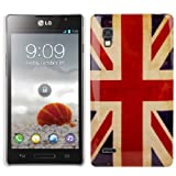 LG Optimus L9 P760 Old Union Jack Back Cover Case / Shell / Shield