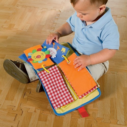 Baby Heads & Tails Activity Soft Book