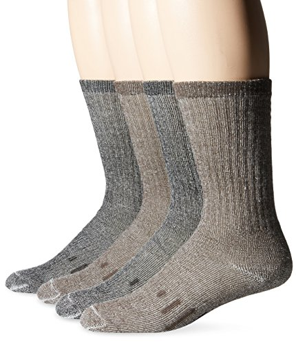 Kirkland Signature Men's Outdoor Trail Sock Merino Wool Blend Assorted Pack Large
