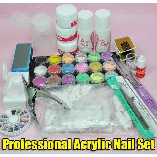 bestofferbuy-kit-polvo-liquido-acrilico-arte-unas-transparente-rosa-blanco-juego-principiante