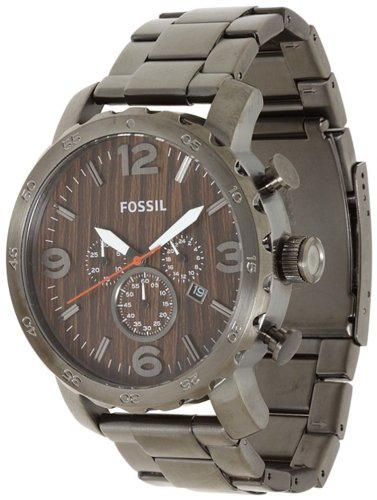 Fossil Nate Stainless Steel Watch - JR1355