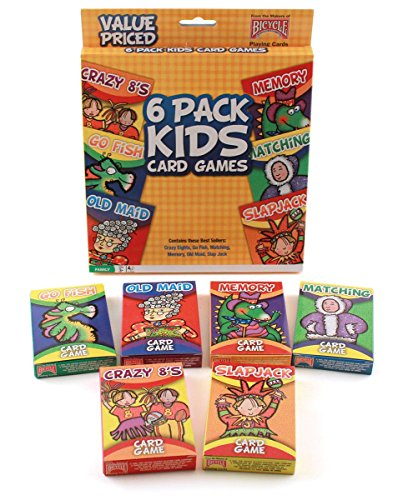 bicycle-classic-kids-card-games-6-pack