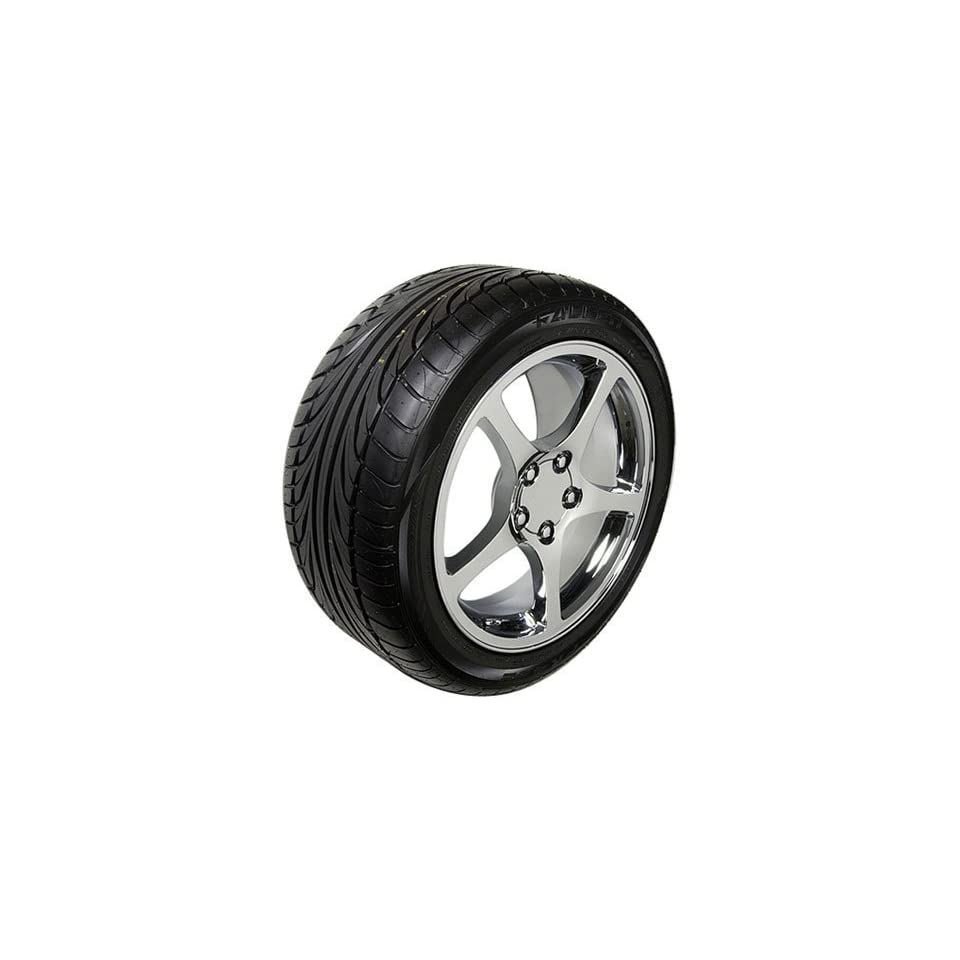 18 Fits Camaro Corvette   C5 Style wheels tires   Chrome 17x8.5 / 18x9.5 SET