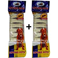 2 Packs Of Loving Pets Dog Chew 3 Inch (6 In 1)pack.