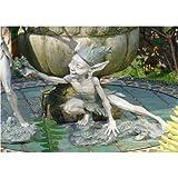 Design Toscano CL52463 Sich Streckender Kobold Garten Skulptur