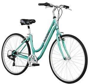 Diamondback Bicycles 2014 Vital One Ladies Sport Hybrid Bike with 700c Wheels by Diamondback Bicycles