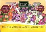 1780 flower seeds: Poppy/Stock/Impatiens/Larkspur/Candytuft/Nigella/Clarkia MULTI-BUY DISCOUNT (8 in 1) Scented Cottage Garden