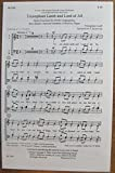 img - for Triumphant Lamb and Lord of All SATB Vocal Only (Hymn Concertato, SATB, Congregation, Brass Quartet, Opt Handbells(3 Octaves), Organ) book / textbook / text book