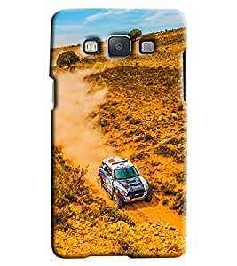 Clarks Car In Sand Hard Plastic Printed Back Cover/Case For Samsung Galaxy A3