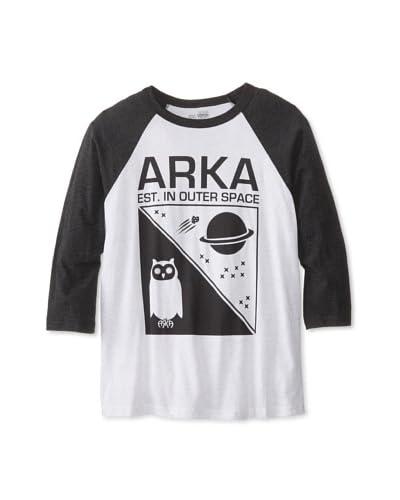 ARKA Men's Est. In Outer Space Long Sleeve Raglan T-Shirt