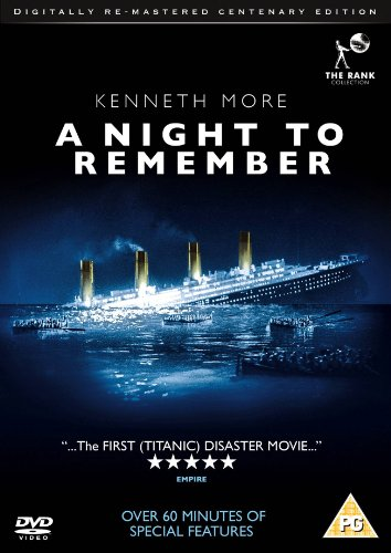 A Night to Remember (Digitally Re-mastered) [DVD] [1958]
