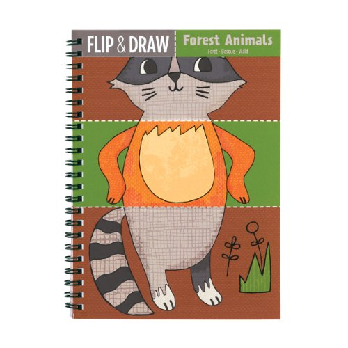 Mudpuppy Forest Animals Flip and Draw