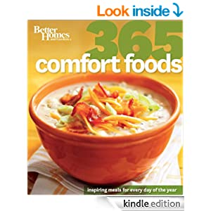 Better Homes and Gardens: 365 Comfort Foods (Better Homes and Gardens 365)