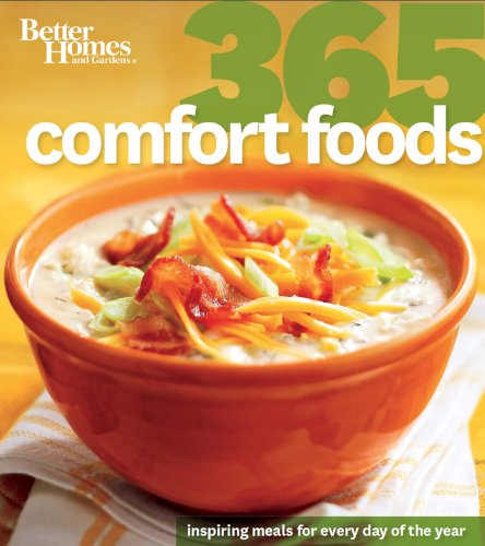 Better Homes and Gardens: 365 Comfort Foods (Better Homes and Gardens 365) by Better Homes and Gardens