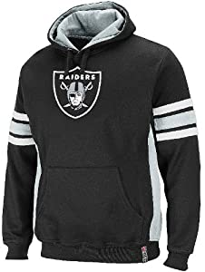 Oakland Raiders Passing Game II Fleece Hooded Sweatshirt by VF by VF