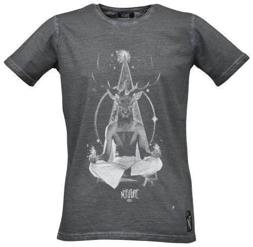 NO FUTURE -  T-shirt - Camicia - Maniche corte - Uomo anthra X-Large