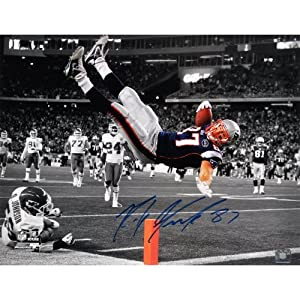 Rob Gronkowski New England Patriots Autographed 16