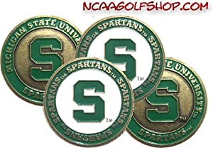 Buy (4) Michigan State Spartans Golf Ball Markers