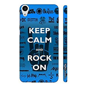 HTC Desire 626 ROCK ON designer mobile hard shell case by Enthopia