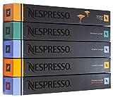 NESPRESSO ネスプレッソ カプセル コーヒールンゴタイプ5種×10カプセル×=50カプセル並行輸入品