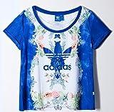 adidas (アディダス)  ファーム Tシャツ Originals × THE FARM COMPANY INDIGO TEE 【並行輸入品】