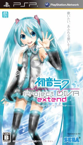 Hatsune Miku Project Diva Extend
