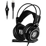 Alcoa Prime Somic G941 LED Stereo Over-ear Game Headset USB Gaming Headphone Sound Effect With Microphone With...