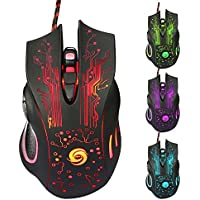 Ace 3200DPI LED Optical 6D USB Wired Gaming Game Mouse Pro Gamer Computer Mice For PC High Quality