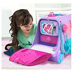 New Disney Junior Doc McStuffins Get Better Talking Mobile Clinic Cart Toy NEW! by TrustyTrade