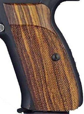 Hogue CZ-75/CZ-85 Grips P9, Coco Bolo Checkered