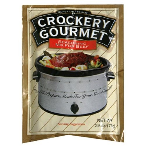 Crockery  Gourmet Seasoning Mix For Beef,2.5-Ounce (Pack of 12)