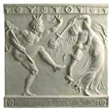 Soane Dancing Girl & Faun Plaque by Haddonstone