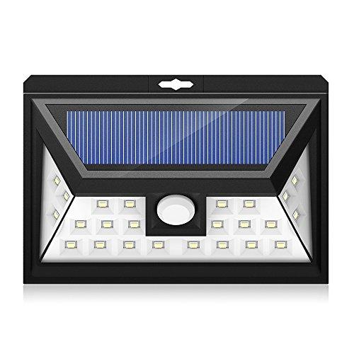 Mpow-24-LED-Weitwinkel-Solarleuchten-Auen-Solar-Betriebene-Auenleuchte-Wandleuchte-Energiesparende-Wasserdichte-3-Modi-Sicherheit-Bewegungs-Sensor-Licht-fr-Garten-Patio-Deck-Hof