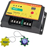 HQRP 20 Amp 12V / 24V Solar Charge Controller for Solar Energy and Lighting Control 300W with LED /LCD Display plus HQRP UV Tester