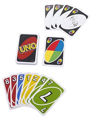 Mattel Games - UNO, juego de cartas (W2087)