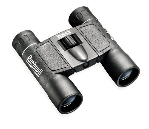 Bushnell Powerview 12X25 Compact Folding Roof Prism Binocular (Black) Color: Black Size: 12X25