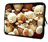7 Inch Tablet Ipad Mini Case Pouch Sleeve Cute Teddy Bears 6