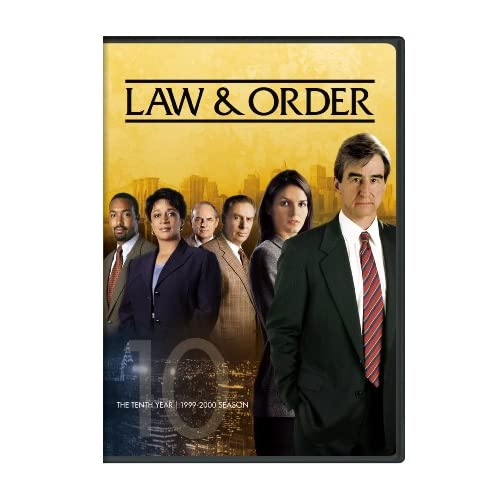 Law & Order The Tenth Year Sam Waterston, Jerry Orbach