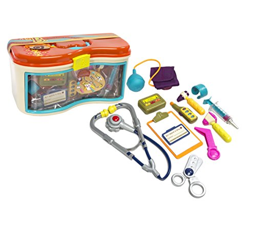 B Toys - B. Doctor Wee MD 23-Piece Play Doctor Kit - For Kids Ages 18 Months and Up (Blood Pressure Kit For Kids compare prices)